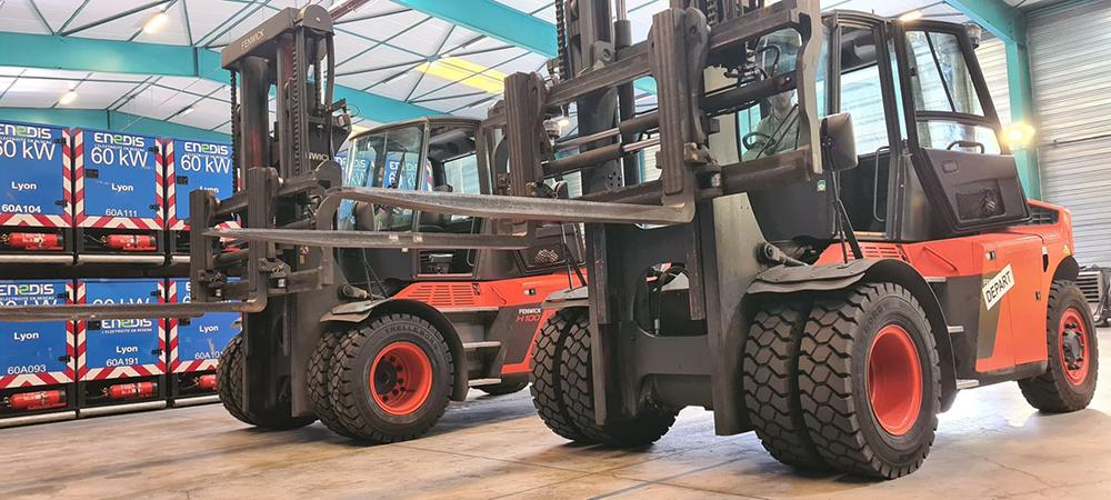 Chariots fenwick vip pneu pour utilisation industrielle